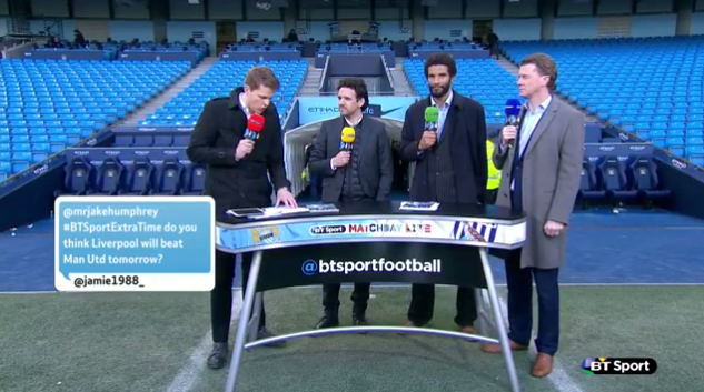 Hargreaves, McManaman, James on BT Sport