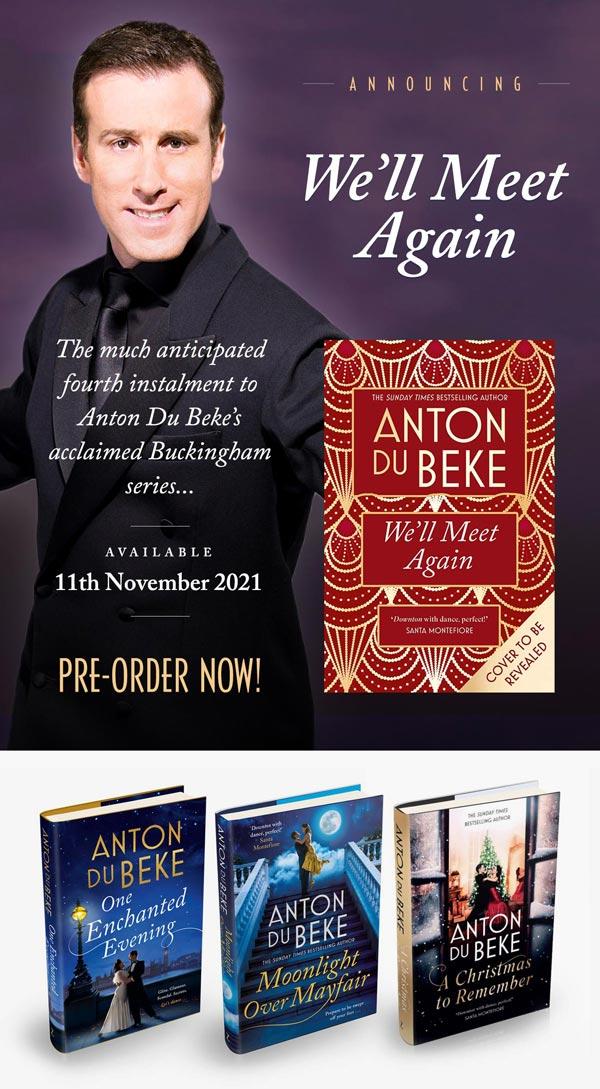 Anton Du Beke's Novels - Click to visit his online shop